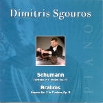 Buy Schumann Brahms CD